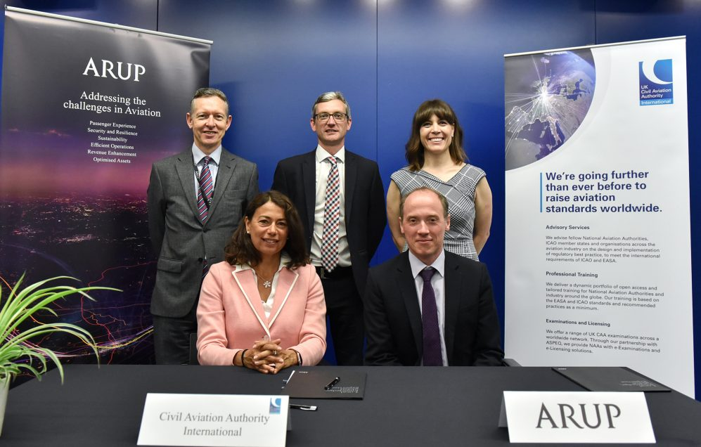Arup and CAAi sign global partnership agreement to enhance aviation safety and security standards