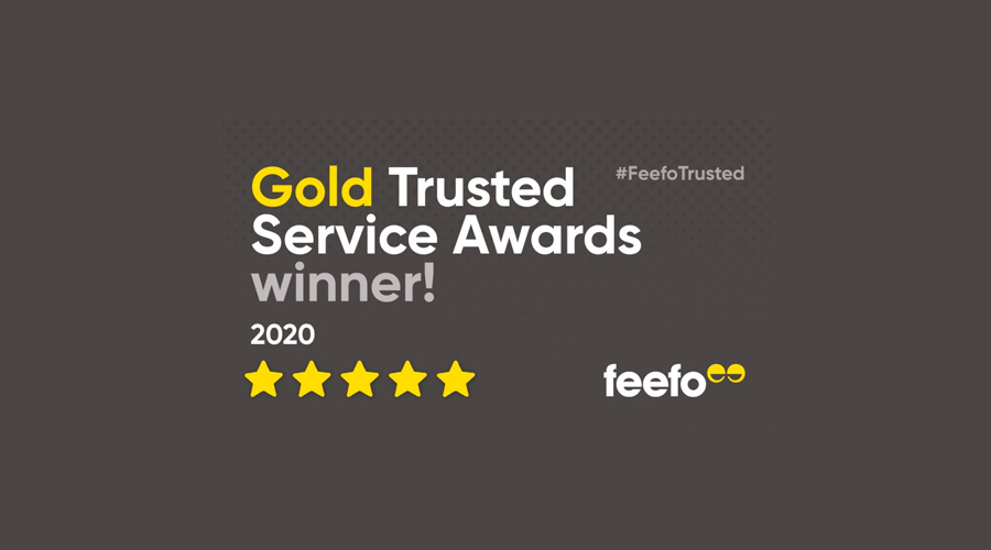 CAA International receives Feefo Gold Trusted Service Award 2020